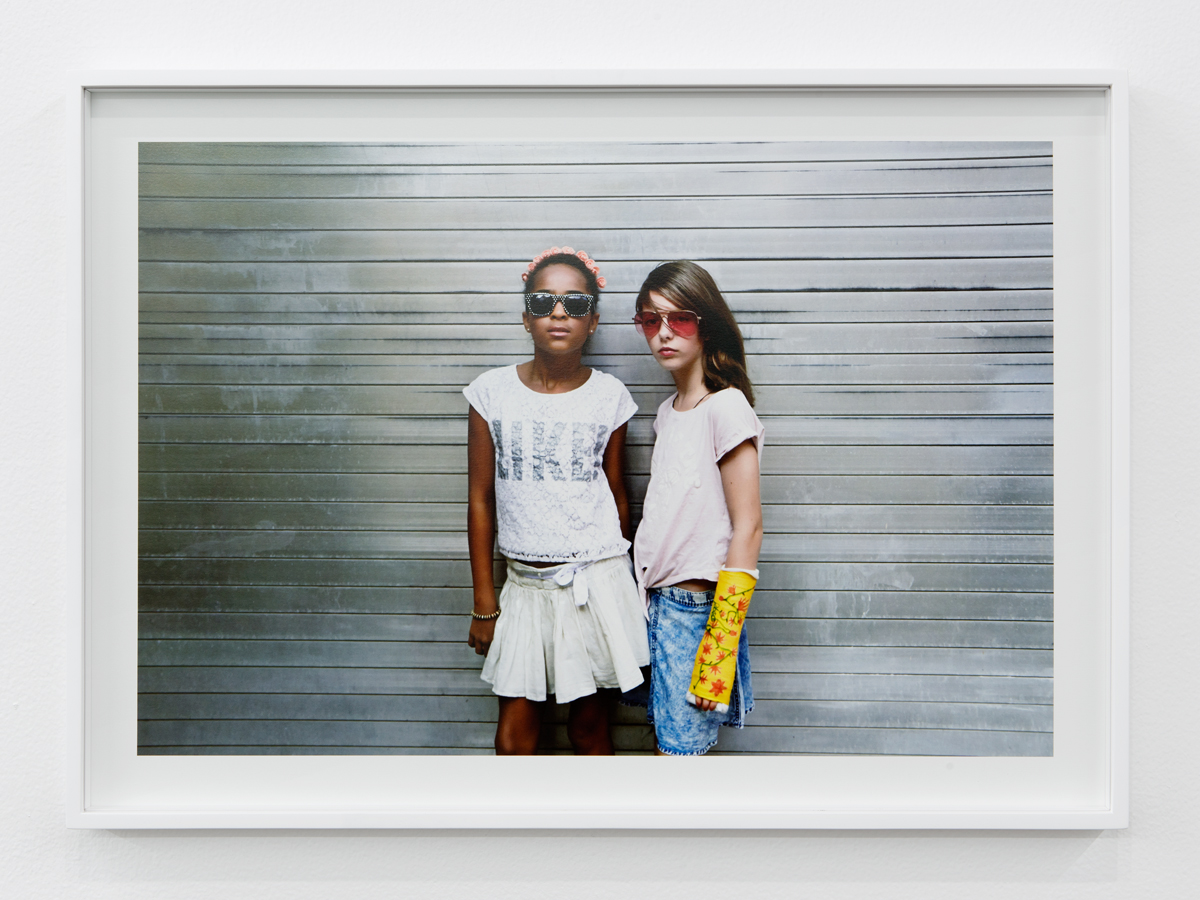 Delia & Lovely 5, 2015. C-print. 20 ¼ x 28 ½ inches.