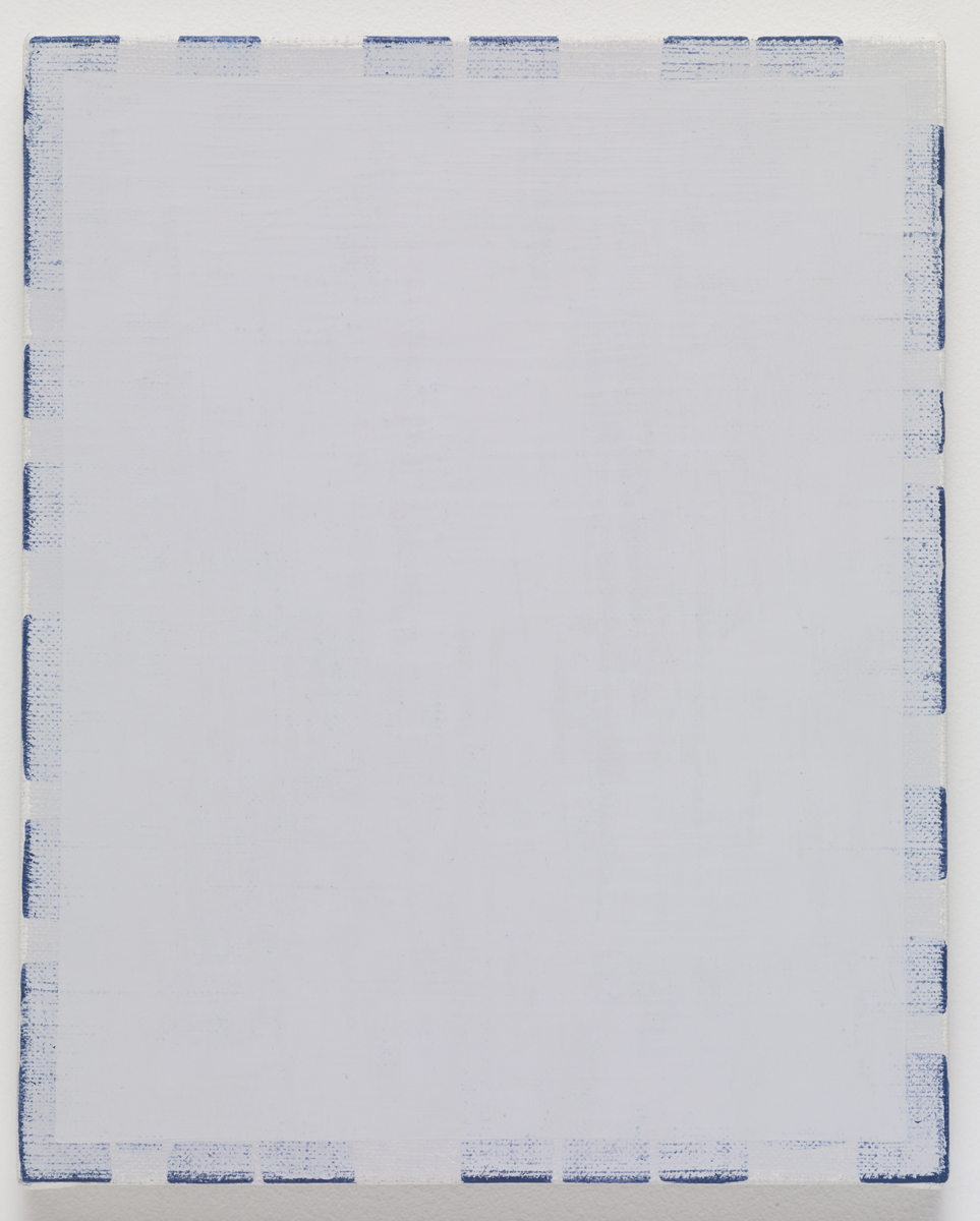 untitled, 2015. Oil on canvas. 27.7 x 22 x 2cm; 10 ¾ x 8 ⅝ x ¾ inches.