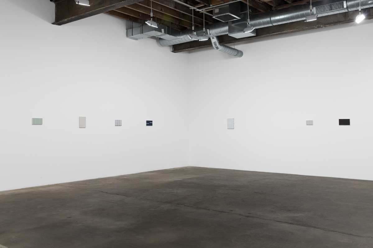 To and from home, installation view.