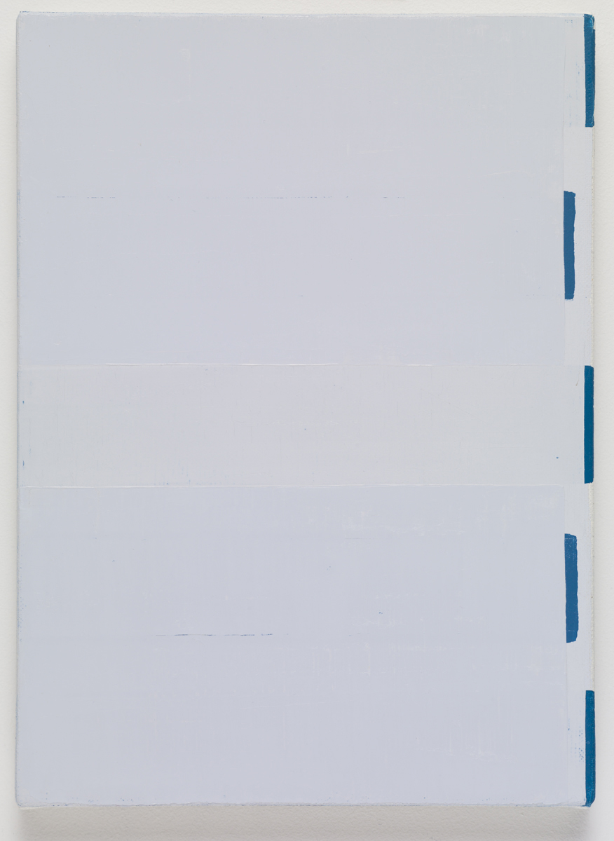 untitled, 2015. Oil on canvas. 33.5 x 24.3 x 2.3 cm; 13 ¼ x 9 ⅝ x ⅞ inches.