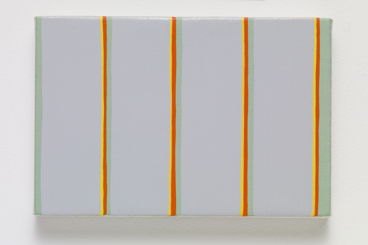 MPCG, 2015. Oil on canvas. 12.3 x 18.3 x 2.3 cm; 4 ¾ x 7 ⅛ x ⅞ inches.