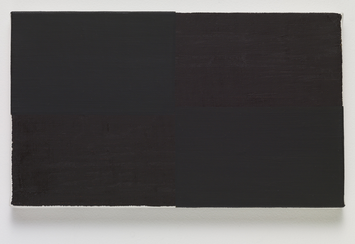 wrap, 2015. Oil on canvas. 16.2 x 27.3 x 2 cm; 6 ¼ x 10 ¾ x ¾ inches.