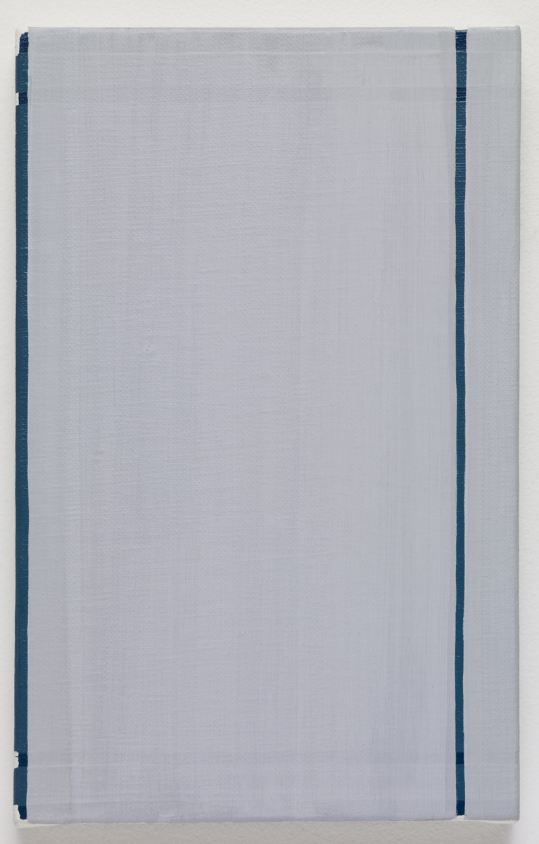 untitled, 2015. Oil on canvas. 22.5 x 14 x 2 cm; 8 ¾ x 5 ½ x ¾ inches.