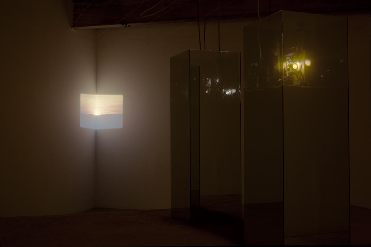 Before the Sun, installation view.