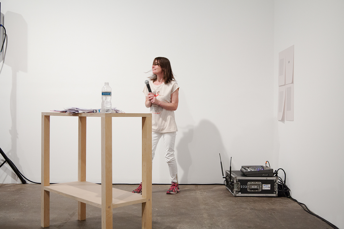 LL Bedrock, 2012. Performance. 42 minutes.
