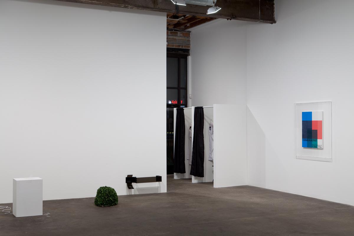 TOBIAS KASPAR, installation view.