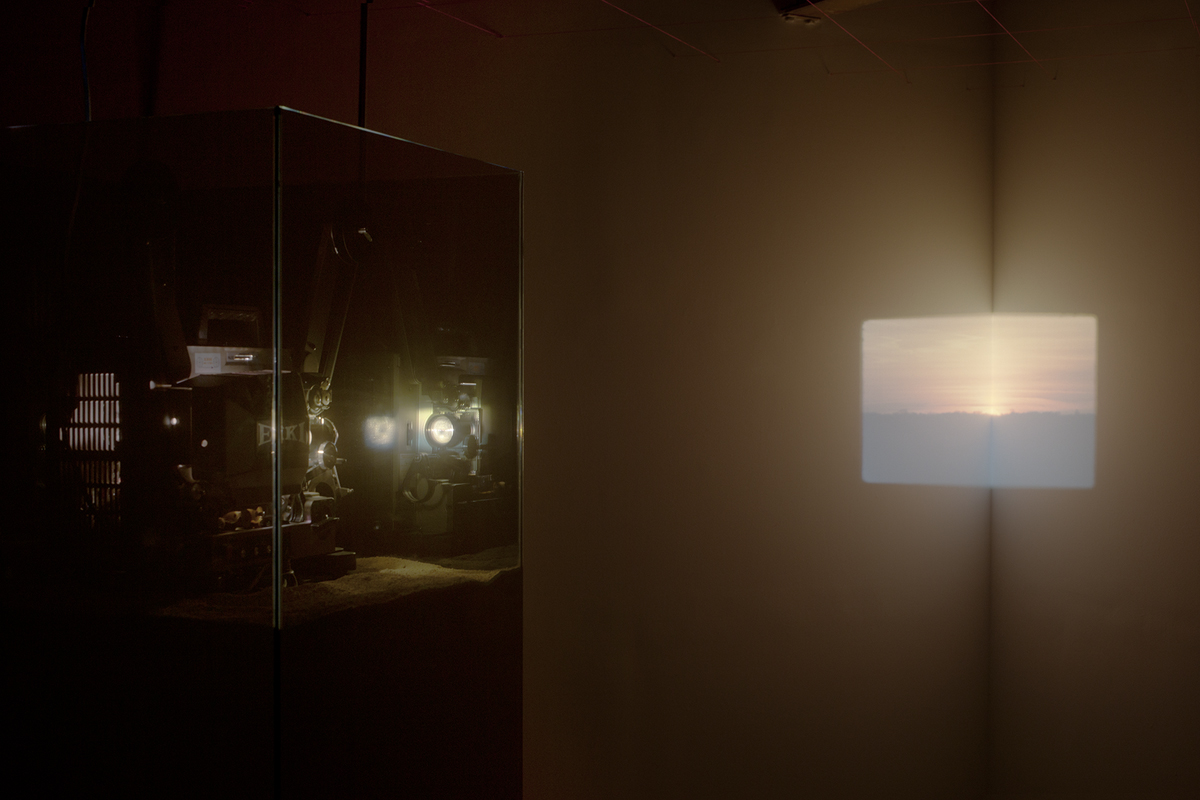 Before the Sun, detail, installation view.