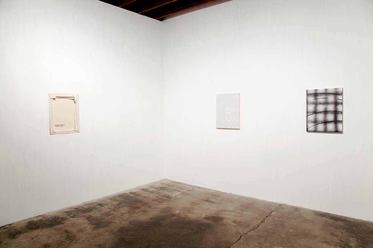 The Ground, installation view.