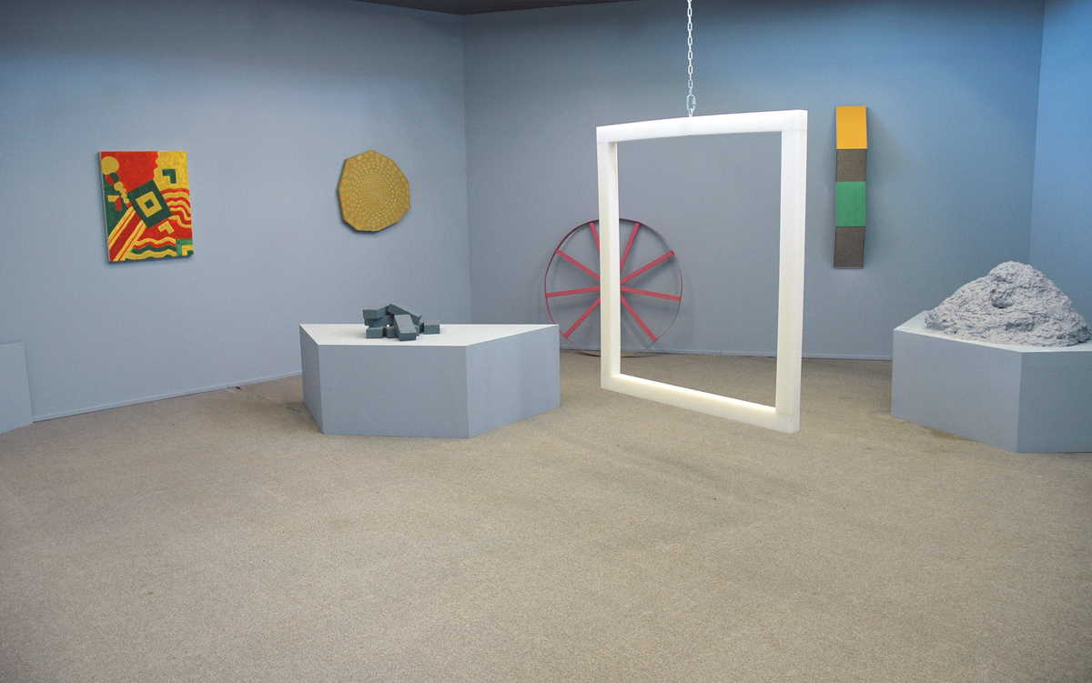 Moon Museum: Scene 52 (Shots 1-10), installation view.