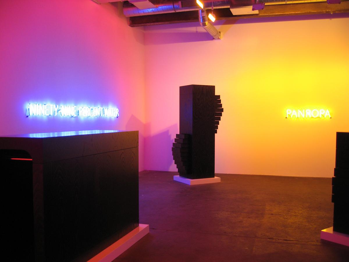 New Work, installation view.