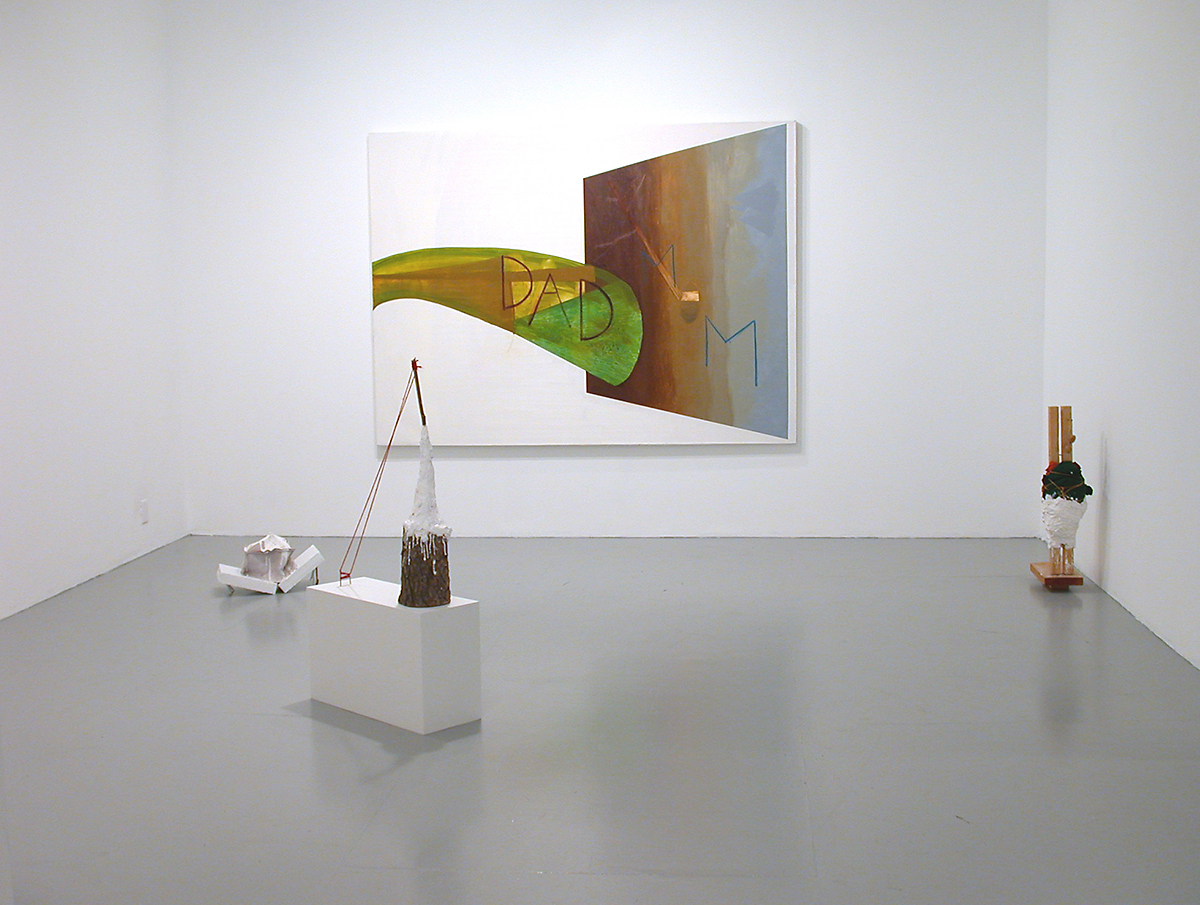 Samara Caughey and Jesse Chapman, installation view.