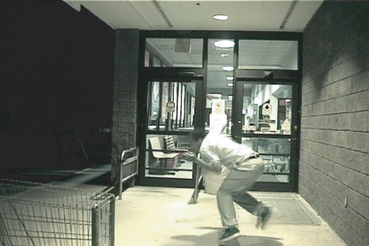 Dave McKenzie, Edward and Me, video still, 2001. DVD.