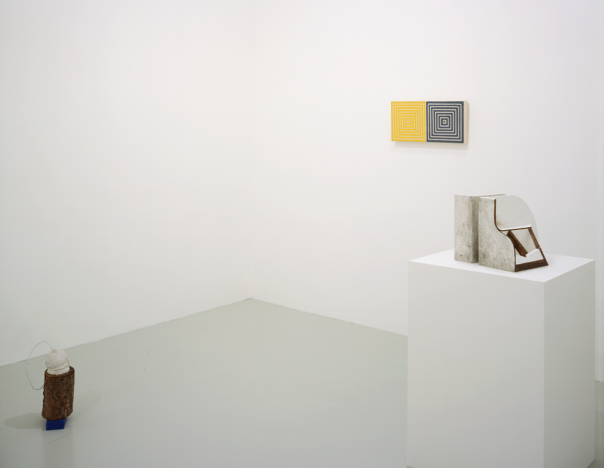 ISHTAR, installation view. Left to right: Samara Caughey, Sturtevant, Vincent Fecteau.