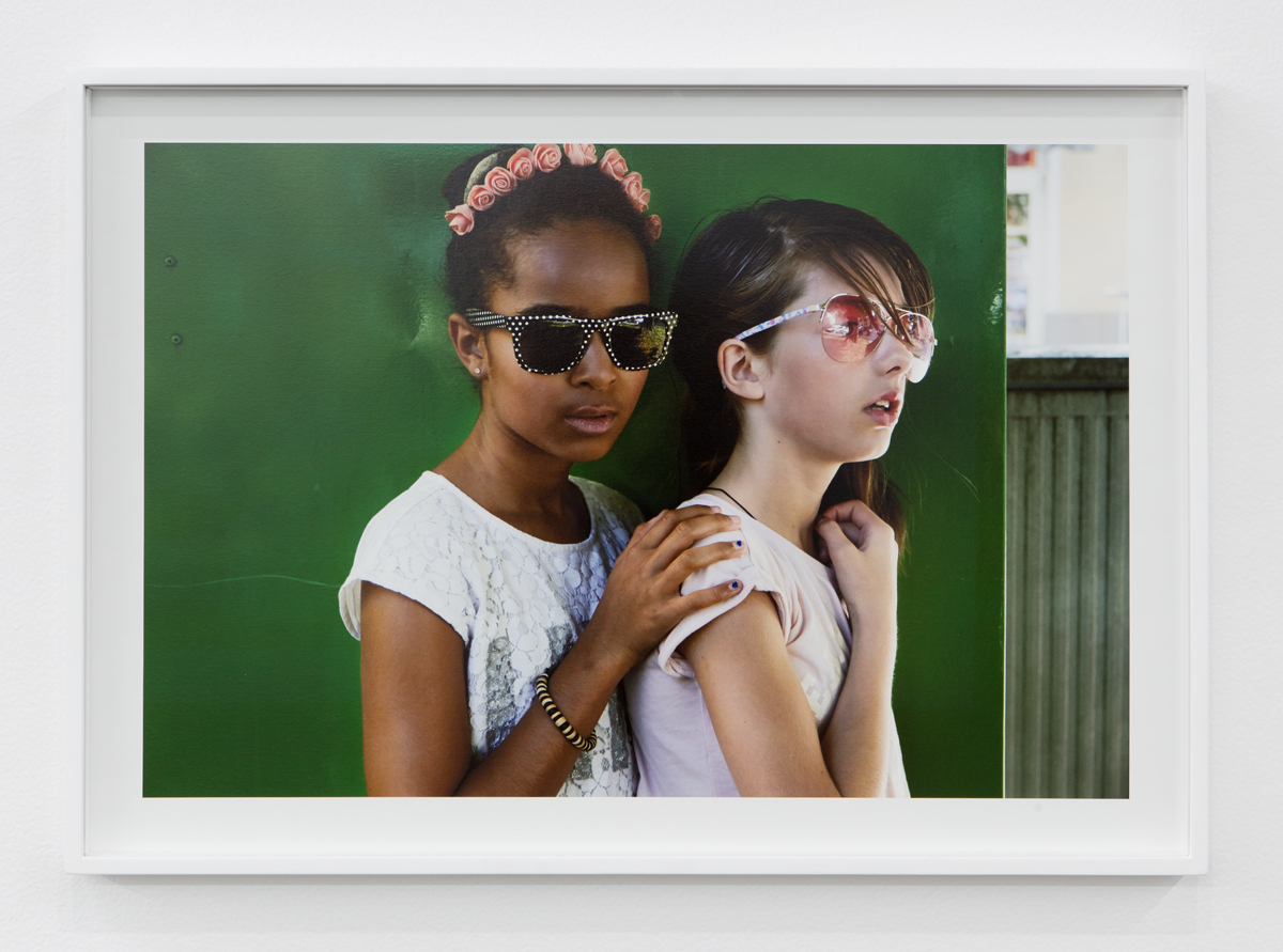 Delia & Lovely 7, 2015. C-print. 20 ¼ x 28 ½ inches.