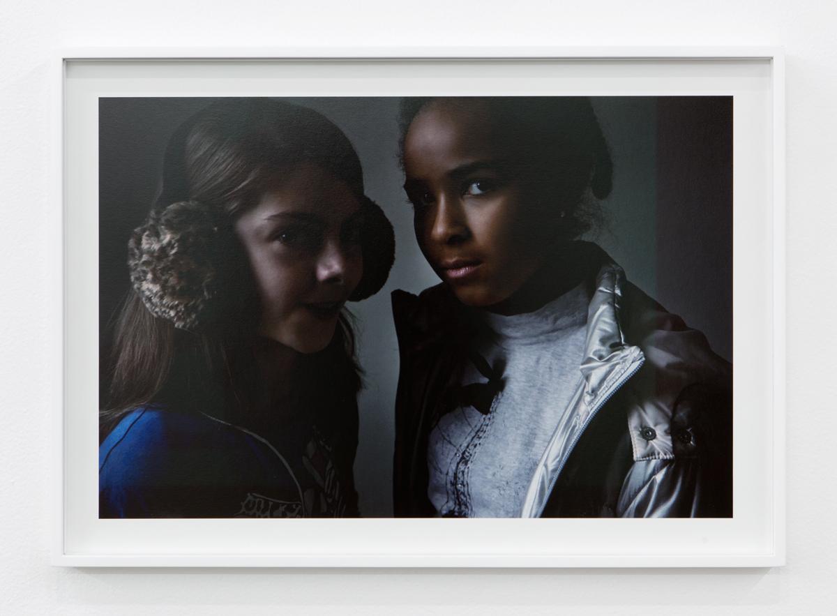 Delia & Lovely 1, 2015. C-print. 20 ¼ x 28 ½ inches.