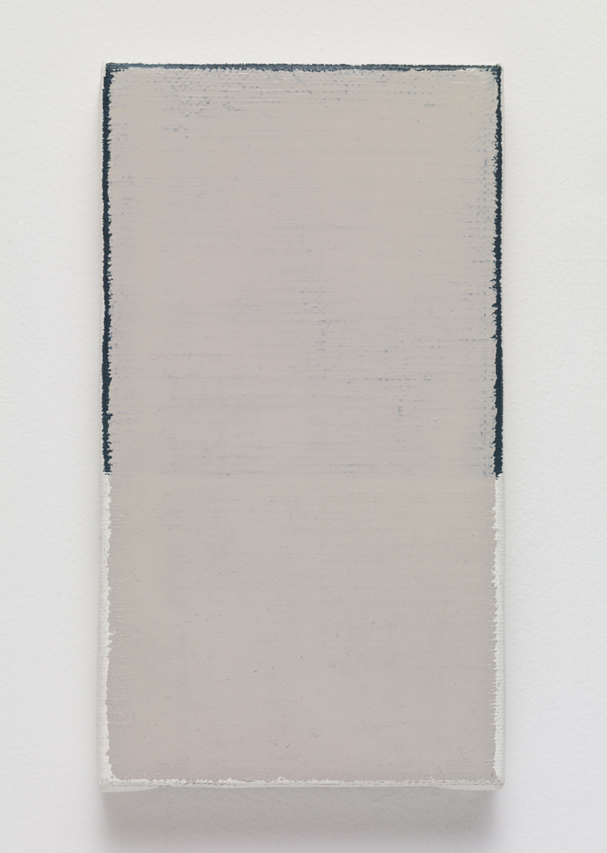 untitled, 2015. Oil on canvas. 18.5 x 10 x 2.3 cm; 7 ⅛ x 3 ⅞ x ⅞ inches.