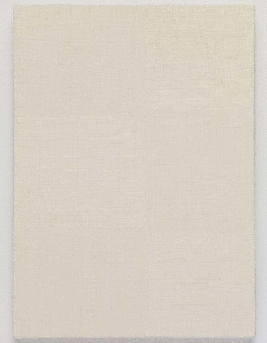 """direction, 2015. Oil on canvas. 33.5 x 24.3 x 2.3 cm; 13-1/2"""" x 9-1/2"""" x ⅞ inches."""