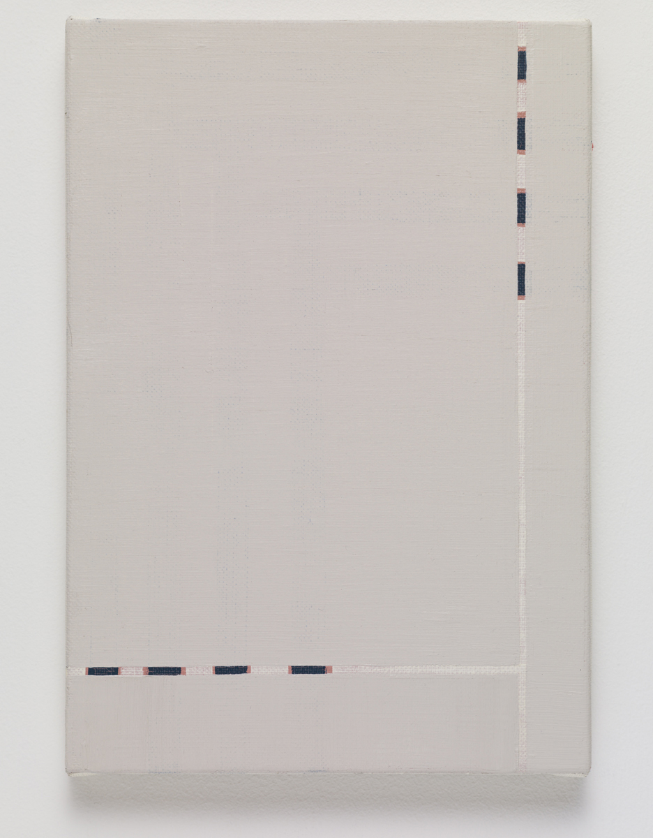 untitled, 2015. Oil on canvas. 28 x 19.3 x 2 cm; 10 ¾ x 7 ½ x ¾ inches.