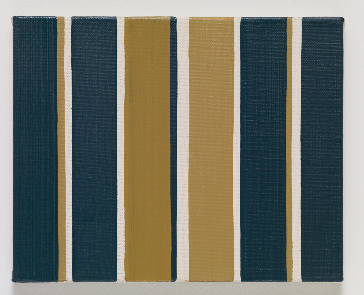 Brush No. 15 of Sekaido, 2015. Oil on canvas. 22 x 27.2 x 2 cm; 8 ⅝ x 10 ¾ x ¾ inches.