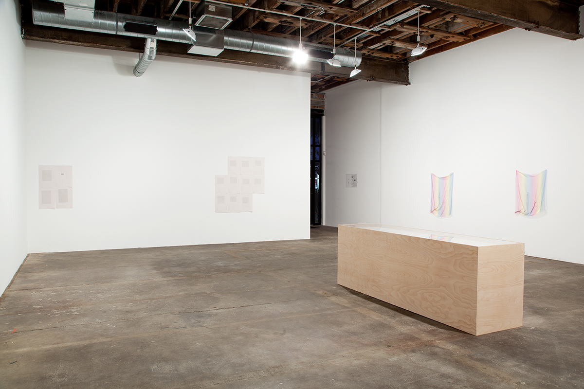 Its chiming in Normaltown, installation view. Gallery 1: Seventh Impression.