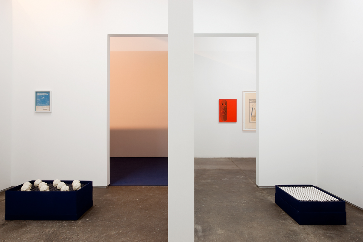 David Catherall, installation view.