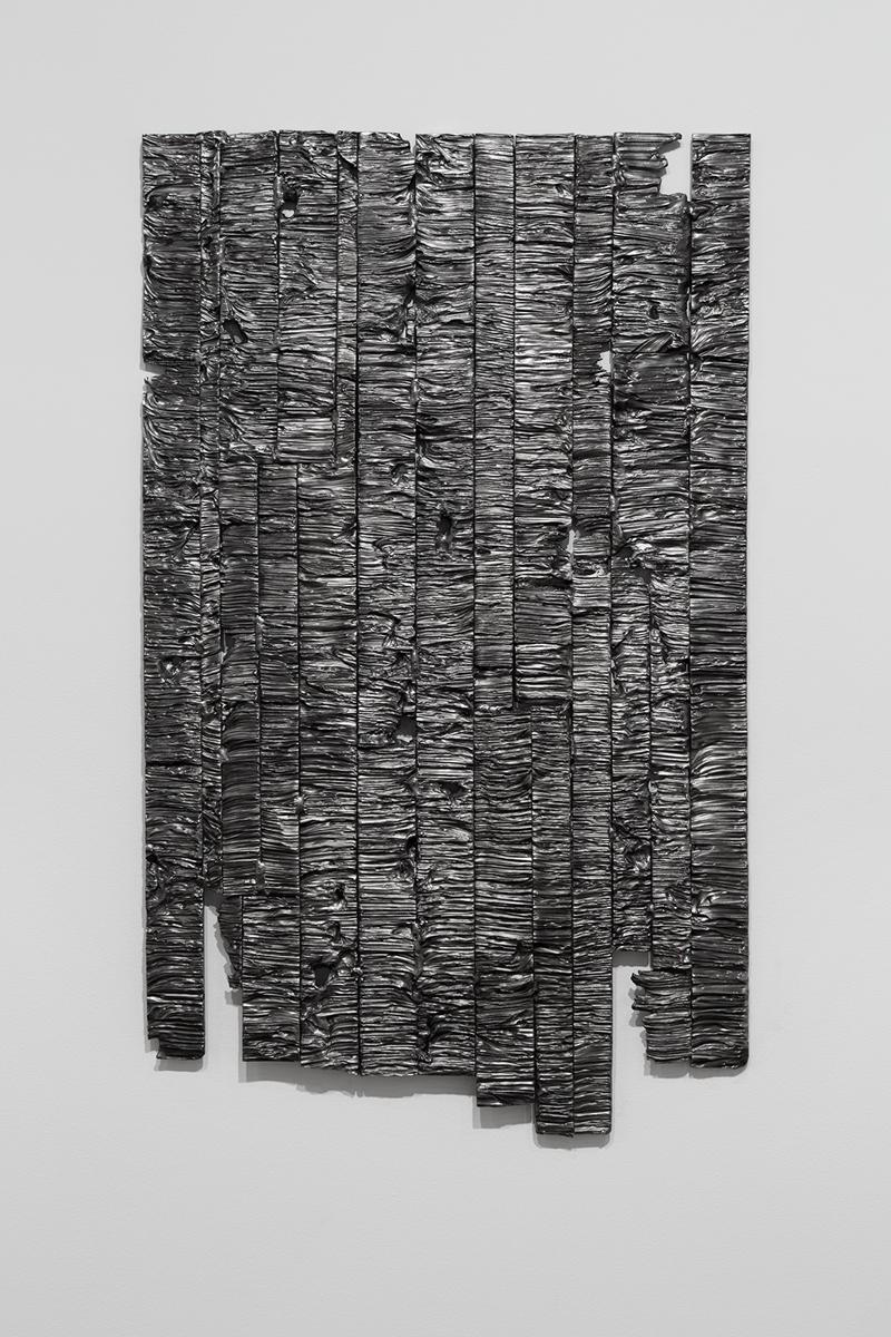 Family of Secrets, 2014. Steel. 51 ½ x 31 inches.