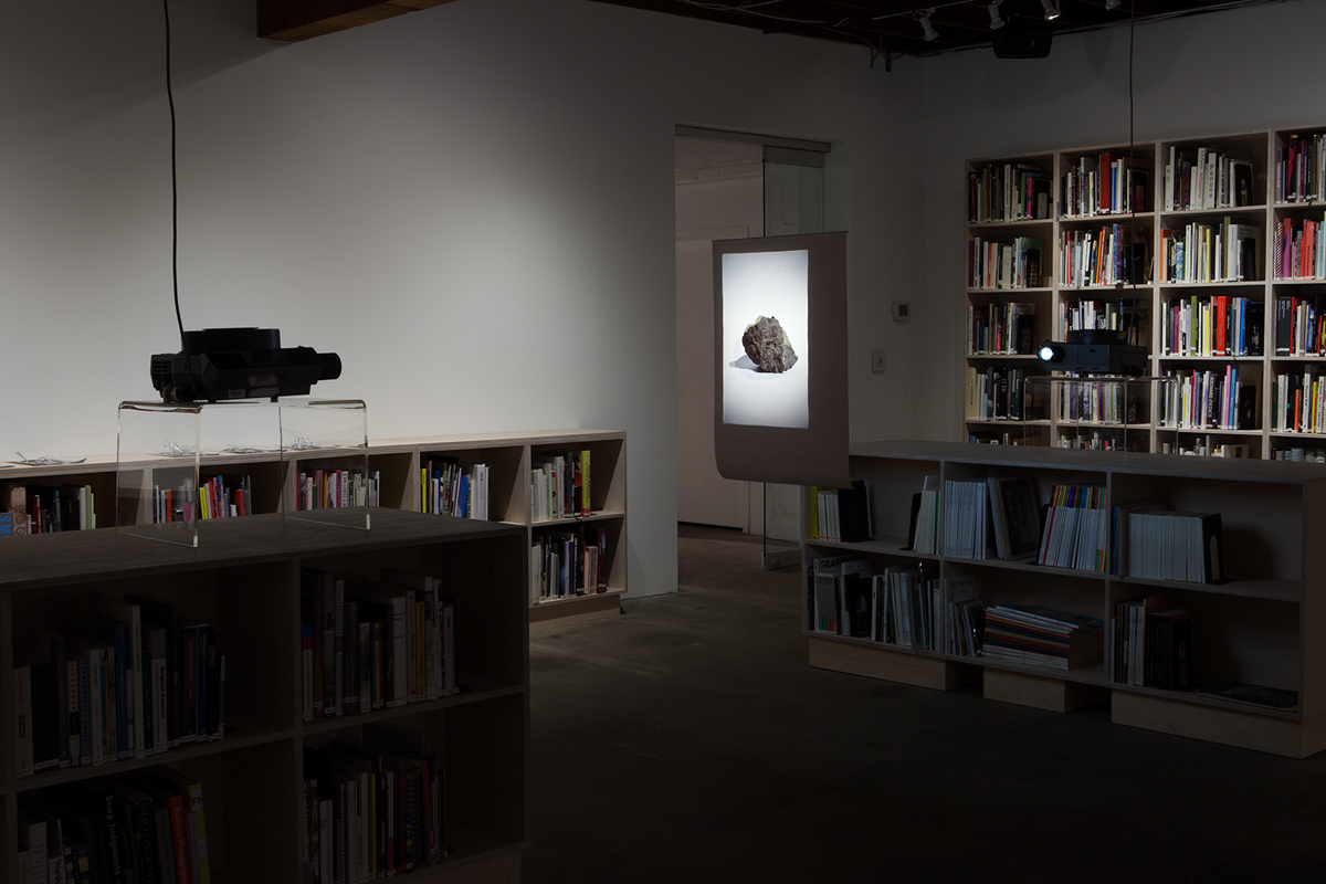 The savagery of the inconstant stones, 2013. Double slide projection, 162 slides. Dimensions variable.