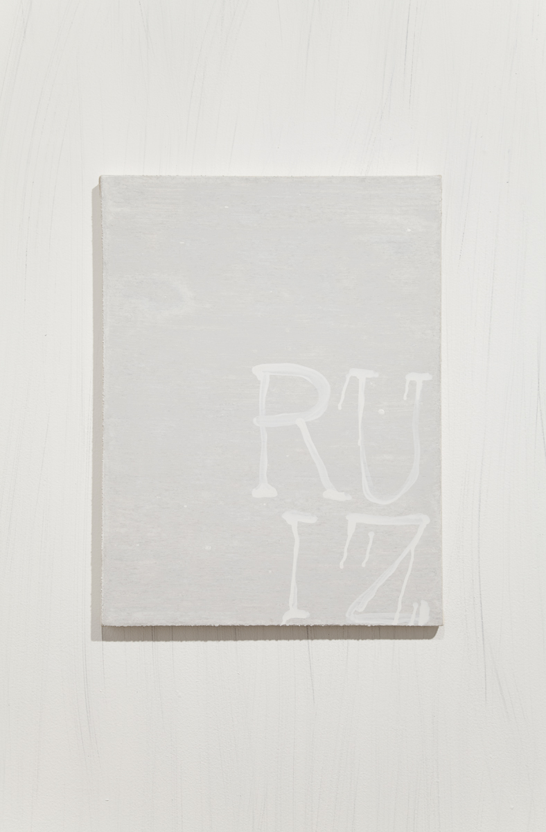 Todd Norsten, nutsfucknuts, 2009. Gouache on canvas. 17 x 22 inches.