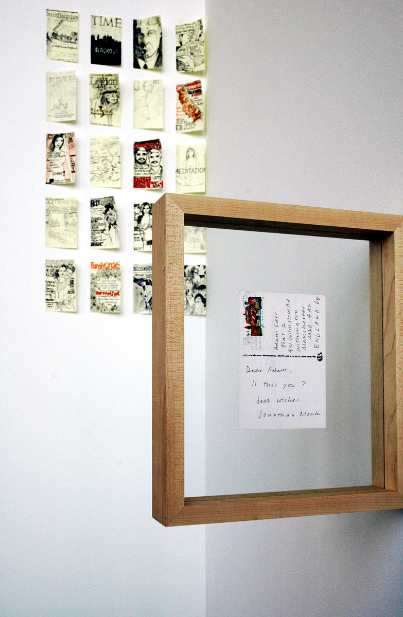 Post Notes, installation view.