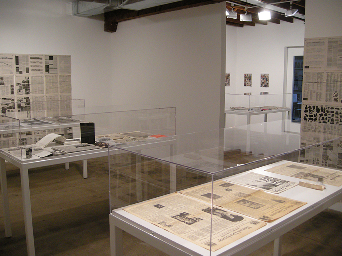 Old News, installation view.