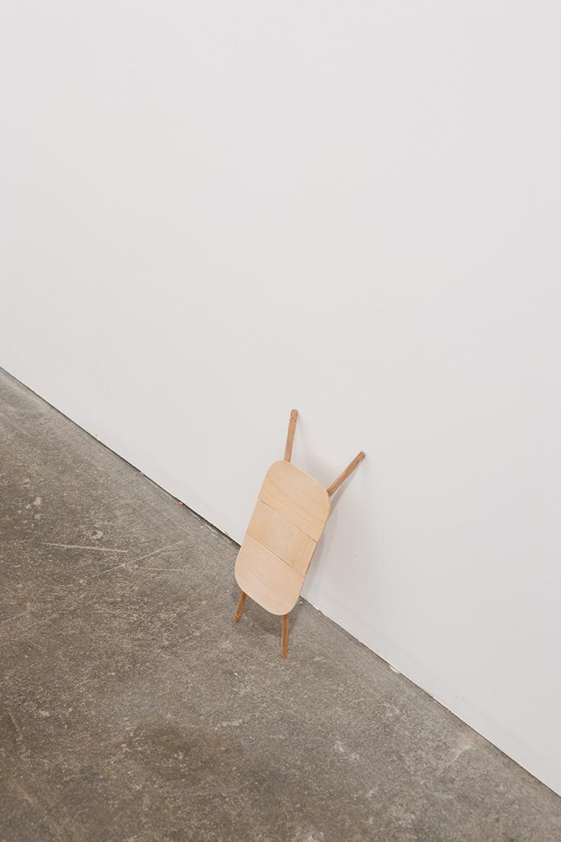 Untitled, 2007. Wood.