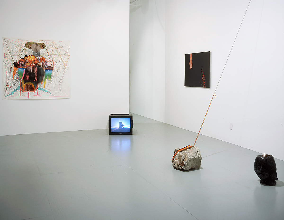 When Darkness Falls, installation view.