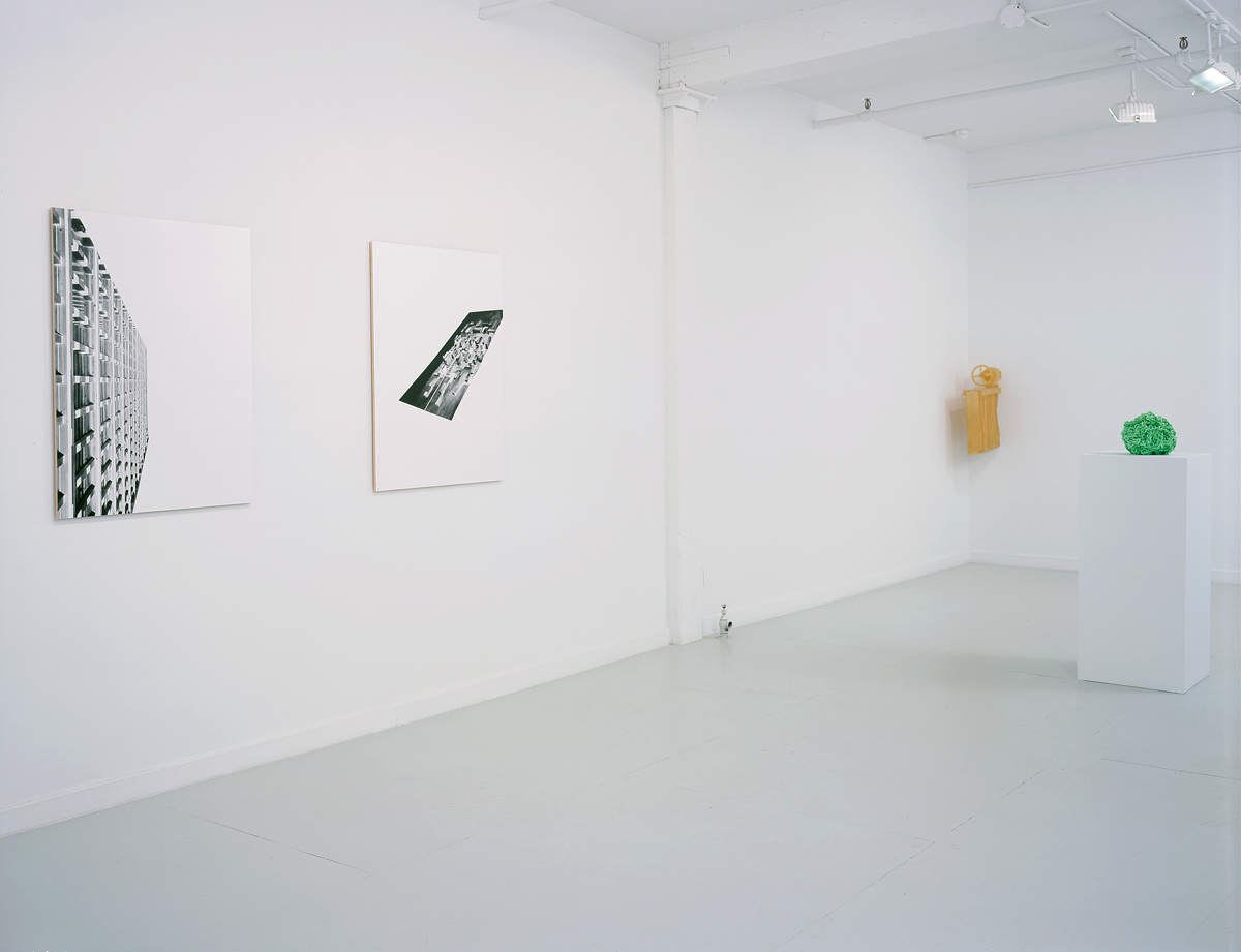Storage and Retrieval, installation view. Left to right: Stevie Rexroth, Michael LaForte, Motonobu Kurokawa.