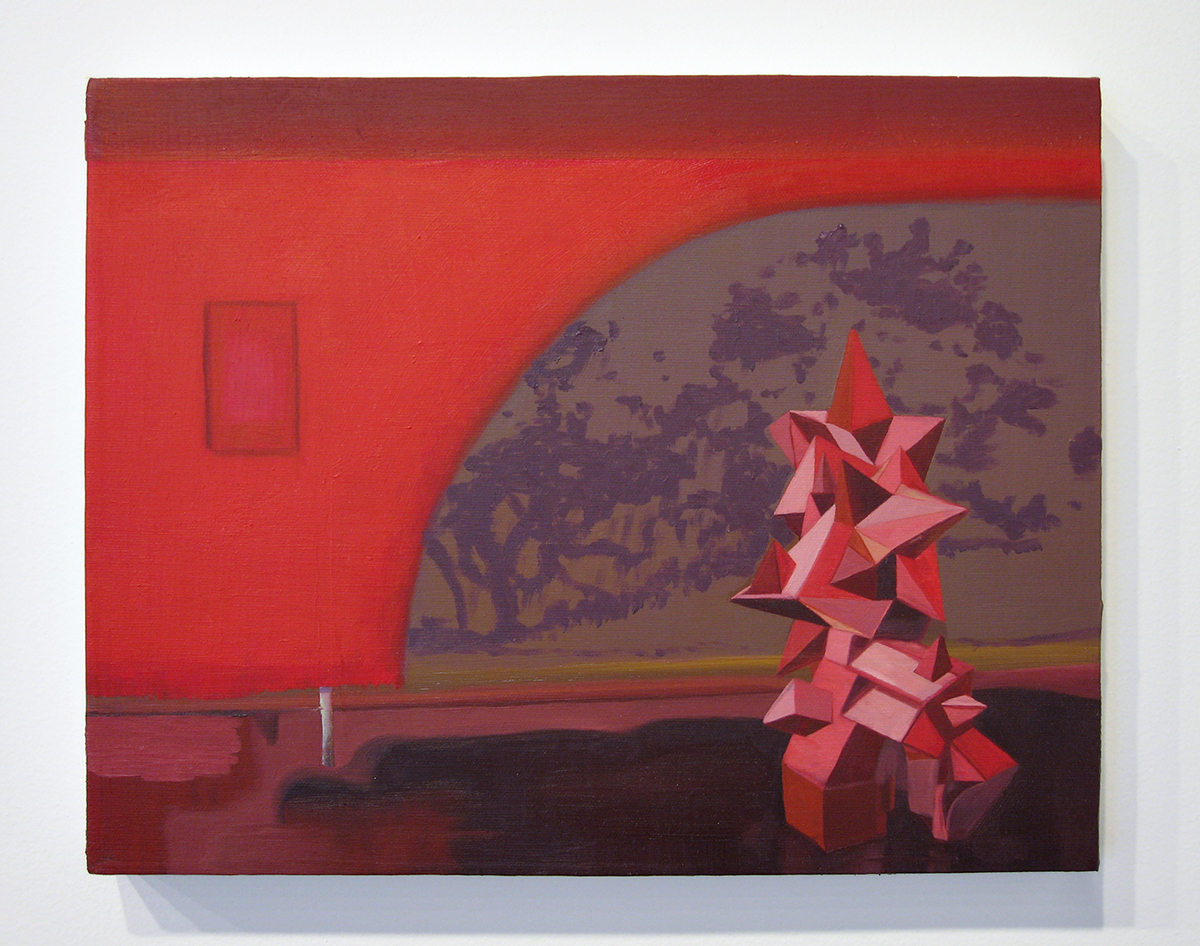 The Art Center, 2006. Oil on canvas. 11 x 14 inches.