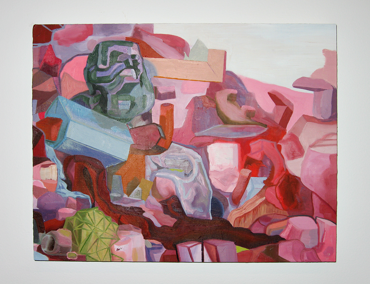 Motherlode, 2005. Oil on panel. 11 ¾ x 13 ¾ inches.